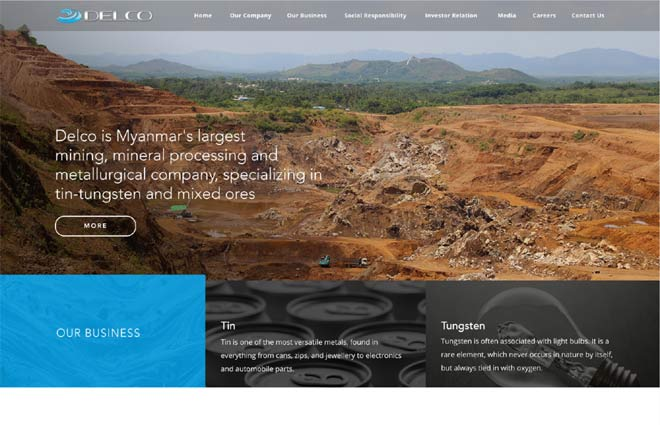 Mining-Company-Website