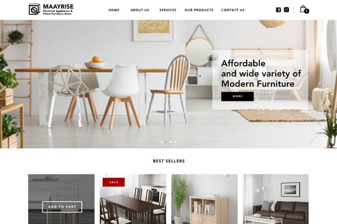 E Commerce. Good And Cheap Furniture Singapore