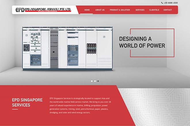 Corporate | Portfolio | Singapore Web Design